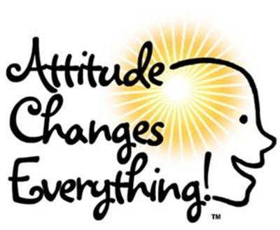 how to describe an attitude change