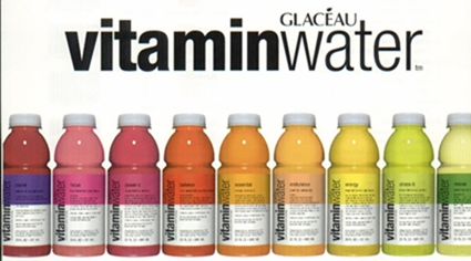 vitamin water Glaceau